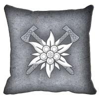 Декоративна подушка Едельвейс (граніт)