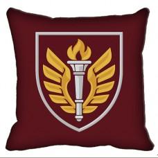 Декоративна подушка 199 Навчальний Центр ДШВ (марун)