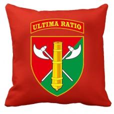 Декоративна подушка 26 ОАБр (червона)