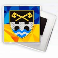 Магнітик 534 ОІСБ (жовто-блакитний)