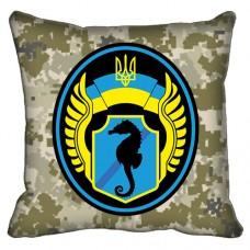 Декоративна подушка 73 Морський Центр Спеціальних Операцій (старий знак піксель)