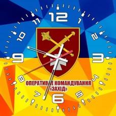 Годинник ОК Захід (жовто-блакитний стилізований)