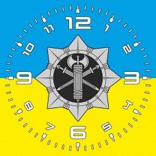 Годинник ВСП (жовто-блакитний)