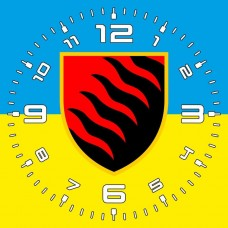 Годинник 55 ОАБр (жовто-блакитний)