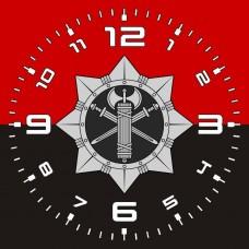 Годинник ВСП (червоно-чорний)