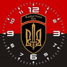 Купить Годинник ОЗШР Карпатська Січ (червоно-чорний) в интернет-магазине Каптерка в Киеве и Украине