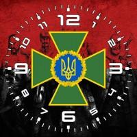 Годинник ДПСУ (червоно-чорний варіант)