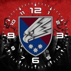 Годинник 25 ОПДБр (червоно-чорний варіант)