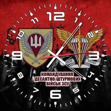 Годинник Командування ДШВ (червоно-чорний з написом)
