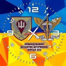 Годинник Командування ДШВ (жовто-блакитний з написом)