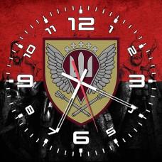 Годинник Командування ДШВ (червоно-чорний)
