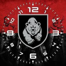 Годинник Мотопіхотний Батальйон 128 ОГШБр (червоно-чорний варіант)