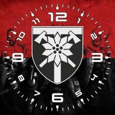 Годинник 128 ОГШБр (червоно-чорний варіант)