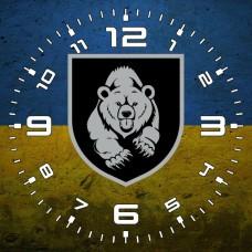 Годинник Мотопіхотний Батальйон 128 ОГШБр (жовто-блакитний варіант)