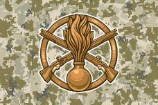 Прапор Механізовані Війська (піксель)