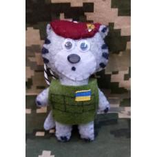 М'яка іграшка Котик-Десантник