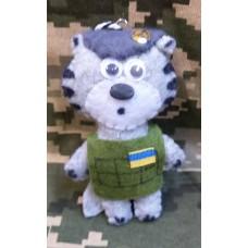 М'яка іграшка Котик-Гірський Піхотинець