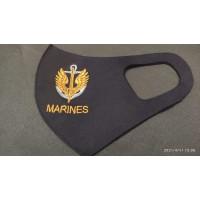 Маска з вишивкою Marines