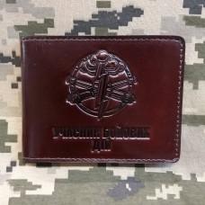 Обкладинка УБД Артилерія шкіра Prestige коричнева з люверсом