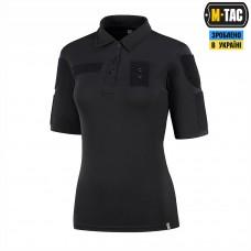 Купить Поло M-Tac Поліція 65/35 Lady Black в интернет-магазине Каптерка в Киеве и Украине