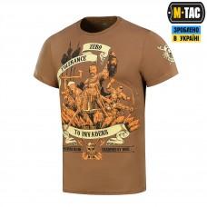 Купить Футболка Zero Tolerance M-TAC Coyote Brown в интернет-магазине Каптерка в Киеве и Украине