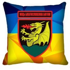 Декоративна подушка 32 РеАП (жовто-блакитна)