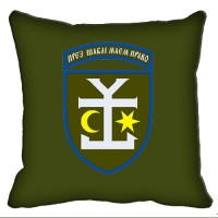 Декоративна подушка 54 ОМБр (олива)