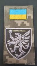 Нарукавна заглушка 80 ОДШБр (польова-колір)