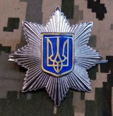 Знак Національна Поліція на кашкет