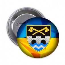 Купить Значок 534 ОІСБ (жовто-блакитний) в интернет-магазине Каптерка в Киеве и Украине