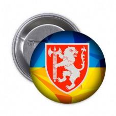 Купить Значок ВСП Західне Територіальне Управління (жовто-блакитний) в интернет-магазине Каптерка в Киеве и Украине