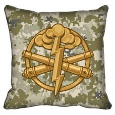 Декоративна подушка Артилерія (піксель)