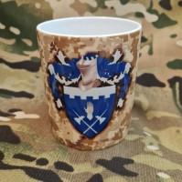 Керамічна чашка 101 ОБрО ГШ (піксель)
