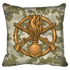 Декоративна Подушка Піхота (піксель)