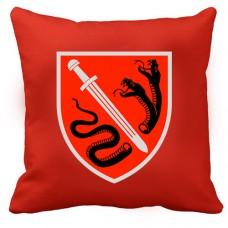 Декоративна подушка ВСП 138 ЦСпП (червона)