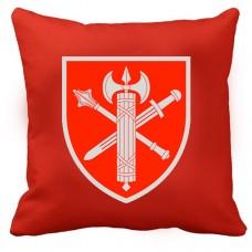 Купить Декоративна подушка ВСП Головне Управління (червона) в интернет-магазине Каптерка в Киеве и Украине