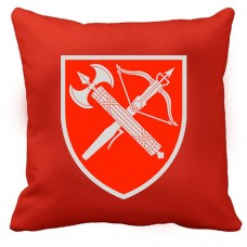 Декоративна Подушка ВСП Центральне Управління (червона)