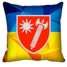 Декоративна Подушка ВСП Східне Територіальне Управління (жовто-блакитна)