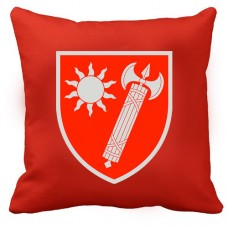 Декоративна Подушка ВСП Східне Територіальне Управління (червона)
