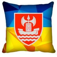 Декоративна Подушка ВСП Південне Територіальне Управління (жовто-блакитна)