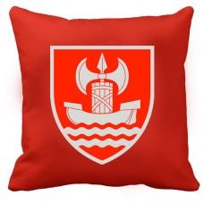 Декоративна Подушка ВСП Південне Територіальне Управління (червона)