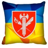 Декоративна подушка ВСП 25 Навчальний Центр (жовто-блакитна)