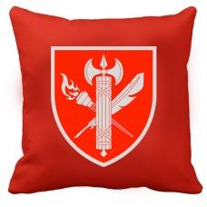 Купить Декоративна подушка ВСП 25 Навчальний Центр (червона) в интернет-магазине Каптерка в Киеве и Украине
