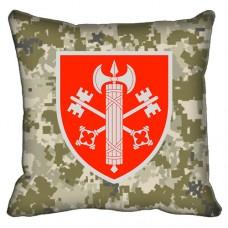 Декоративна подушка ВСП 307 Дисциплінарний Батальйон (піксель)