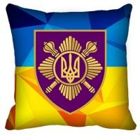 Подушка Окремий Президентський Полк (жовто-блакитна)