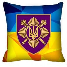 Купить Подушка Окремий Президентський Полк (жовто-блакитна) в интернет-магазине Каптерка в Киеве и Украине