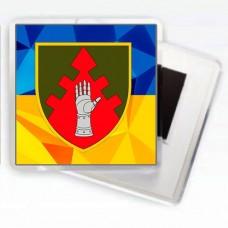 Магнітик ЦУБВС ЗСУ (жовто-блакитний)