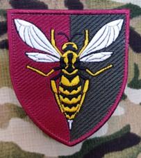 Нарукавний знак 38 Зенітний Ракетний Полк (кольоровий варіант)