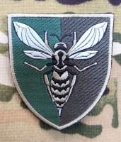 Нарукавний знак 38 Зенітний Ракетний Полк (польовий варіант)