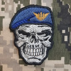 Нашивка Череп в береті ВПС